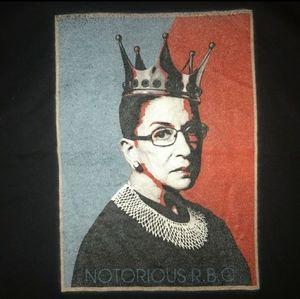 RBG Ruth Bader Ginsberg Notorious top *NWT
